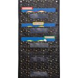 File Folder Storage Pocket Chart: Gold Stars