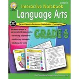 Interactive Notebook: Language Arts, Grade 6