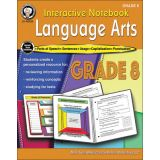 Interactive Notebook: Language Arts, Grade 8