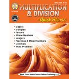 Multiplication & Division Quick Starts Workbook, Grades 4-8+