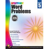 Spectrum® Word Problems, Grade 5