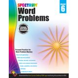 Spectrum® Word Problems, Grade 6