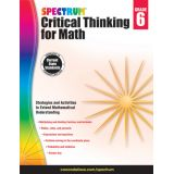 Spectrum® Critical Thinking for Math, Grade 6