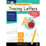 Trace with Me: Tracing Letters Activity Book, Grades Toddler-K