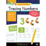 Trace with Me: Tracing Numbers Activity Book, Grades Toddler-K