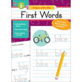Trace with Me: First Words Activity Book, Grades PreK-2