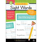 Trace with Me: Sight Words Activity Book, Grades PreK-2