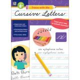 Trace with Me: Cursive Letters Activity Book, Grades 2-5