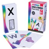 Spectrum® Flash Cards, Letters & Numbers