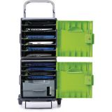 Tech Tub2® Trolley, Model with 10 port syncing USB hub (for iPads®)
