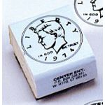 Coin Rubber Stamp Set, Heads
