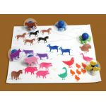 READY 2 LEARN® Giant Stampers, Farm Animals