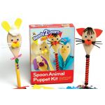READY 2 LEARN® Spoon Animals Puppet Kit