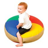 Soft Touch Pouf Cushions, 30 diameter x 5 thick