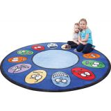 Expressions Rug, 6'6 Round