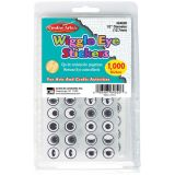 Wiggle Eyes Stickers, Black