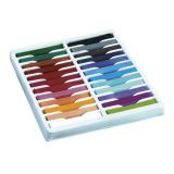 Quality Artist Square Pastels, 24 assorted pastels