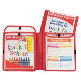 C-Line® Homework Connector Folder, Red