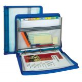 Zippered Binder with Expanding File