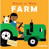 Wheels at Work Board Books, Farm