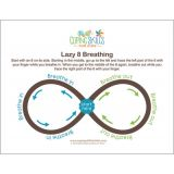 Coping Skills for Kids™ Lazy Eight Deep Breathing Poster