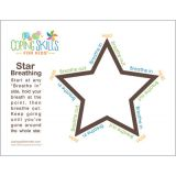 Coping Skills for Kids™ Star Deep Breathing Poster