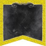 Designer Cut-Outs, Chalk It Up! Pennants, 6