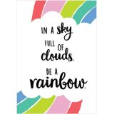 In a sky full of clouds Poster