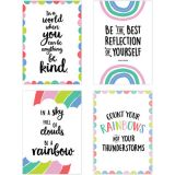 Rainbow Doodles 4-Poster Pack