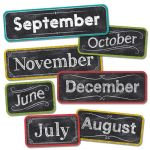 Chalk It Up! Months of the Year