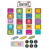 Classroom Centers Mini Bulletin Board Set
