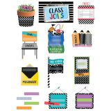 Bold & Bright Class Jobs Mini Bulletin Board Set