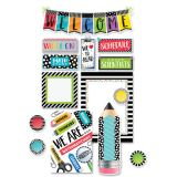 Bold & Bright Welcome Bulletin Board Set