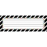 Bold Stripes & Dots Name Plates