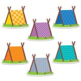 Designer Cut-Outs, Pup Tents, 6
