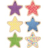 Upcycle Style 6 Designer Cut-Outs, Stars