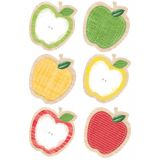 Upcycle Style 6 Designer Cut-Outs, Apples