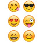 Emoji Fun Hot Spots Stickers