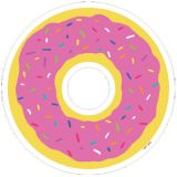 So Much Pun! Donut... 6 Designer Cut-Outs