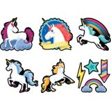 Mystical Magical 6 Designer Cut-Outs, Unicorns