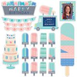 Calm & Cool Happy Birthday Mini Bulletin Board