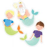 King Neptune & Friends 6 Designer Cut-Outs