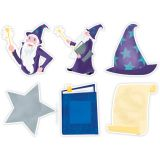 Mystical Magical Wizardly Fun 6 Designer Cut-Outs