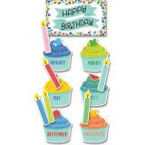 Color Pop Birthday Mini Bulletin Board Set