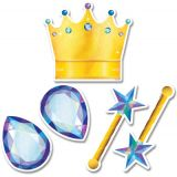 Mystical Magical Crowns and Jewels 6 Designer Cut-Outs