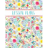Festive Floral Year-Long Lesson Plan Book