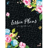 Fancy Floral Year-Long Lesson Plan Book