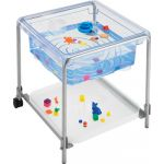 Fun2 Play Activity Tray with Lid, Crystal Clear