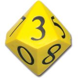 Jumbo Polyhedra Foam Dice, 10-sided
