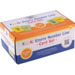 F.U.N.™ Empty Number Line Card Sets, Grades K-1